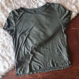 American Eagle | Olive Green Soft & Sexy Tee
